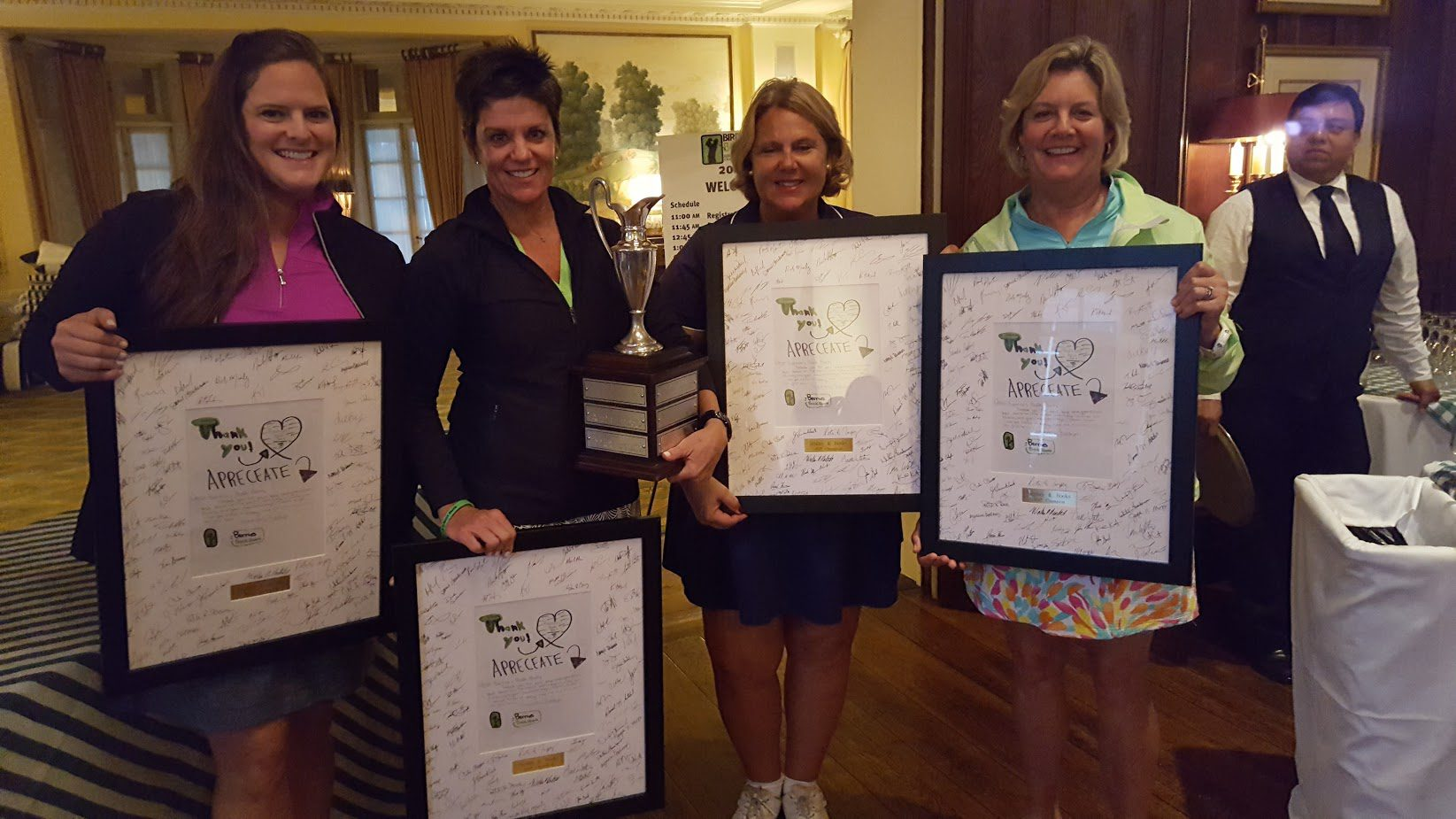 2017 Birdies & Books Charity Golf Classic - Champions